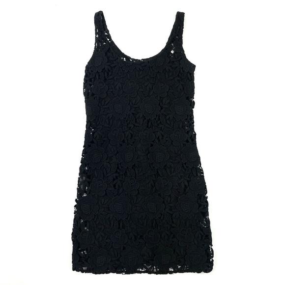 Prada Dresses & Skirts - Prada Lace Sleeveless Dress w/ Silk Slip 38